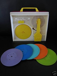 Fisher Price record player toy - I had one of these, too