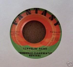 Travelin' Band 45 RPM single