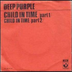 Child in Time picture sleeve. The single was released in the Netherlands, Belgium and Germany.