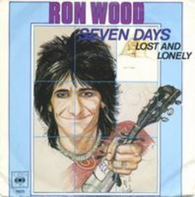 "Picture sleeve for ""Seven Days"" b/w ""Lost and Lonely"" 45 RPM single"