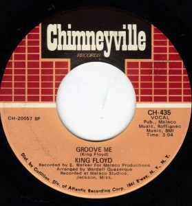 """What Our Love Needs"" b/w ""Groove Me"" 45 RPM single"