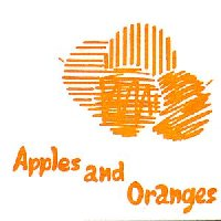 "Picture sleeve for Pink Floyd's ""Apples and Oranges"""