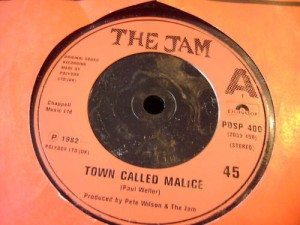 """A Town Called Malice"" single without the picture sleeve."