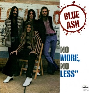 "Cover of Blue Ash's ""No More, No Less"" LP."