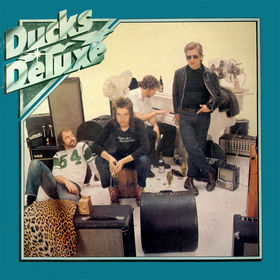 Album cover for Ducks Deluxe's debut LP.