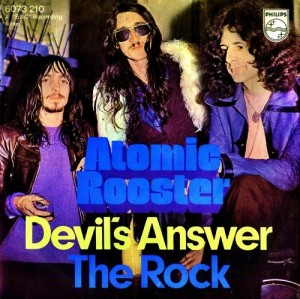 "Picture sleeve issued by Philips for the German release of ""Devil's Answer""."