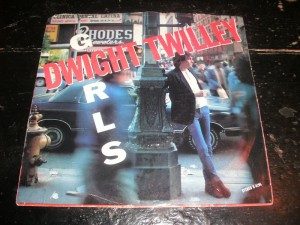 "Picture sleeve for Dwight Twilley's ""Girls"" single."